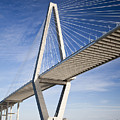 Arthur Ravenel Jr. Bridge In Charleston South Carolina by Dustin K Ryan