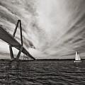 Arthur Ravenel Jr. Bridge Over The Cooper River by Dustin K Ryan