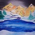 Artic Lake by Jami Lynn Tucker