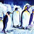 Arctic Penquins by Connie Williams