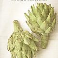 Artichoke Cynara Scolymus by Suzanne Powers