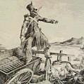 Artillery Caisson by Gericault Theodore