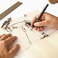 Artist At Work - Michelle Wie Part 1 by Don Kuing