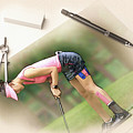 Artist At Work - Michelle Wie Part 6 by Don Kuing