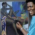 Artist In Bermuda by Carl Purcell