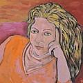 Artist Self Portrait by Reb Frost