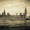 Artistic Vision Of Elizabeth Tower Big Ben And Westminster by Jacek Wojnarowski