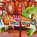 Artistically Textured Carousel by Jeelan Clark