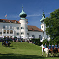 Artstetten Castle In June by Travel Pics