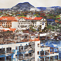 Aruba Abstract by Alice Gipson