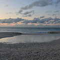 Aruba Beach At Dusk by DejaVu Designs