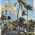 Aruba Palms Two by Alice Gipson