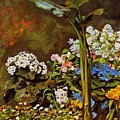 Arum And Conservatory Plants 1864 by Renoir PierreAuguste