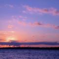 As Sun Sets by Karol Livote