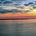 As The Sunrise Reaches The Harbor by CA Johnson
