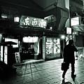 Asakusa Streets At Night by Carlos Alkmin