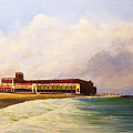 Asbury Park Convention Hall by Ken Ahlering