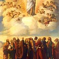 Ascension Of Christ by Dossi Dosso
