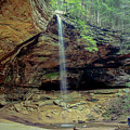 Ash Cave - Hocking Hills, Ohio by Jack R Perry