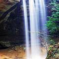 Ash Cave Waterfall by Thomas R Fletcher