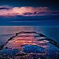 Ashbridges Bay Toronto Canada Dock At Sunrise No 1 by Brian Carson