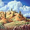 Ashcroft Landscape by Robert Davies