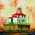 Ashtabula Lighthouse by Michael Vigliotti