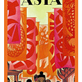 Asia by Nostalgic Prints