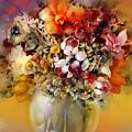 Asian Flowers by Skarlett Pancheva