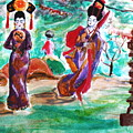 Asian Lovelies by Stanley Morganstein