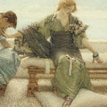 Ask Me No More....for At A Touch I Yield by Sir Lawrence Alma-Tadema