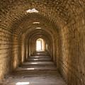 Asklepios Temple Passageway by Bob Phillips