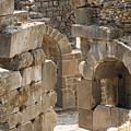 Asklepios Temple Ruins View 3 by Bob Phillips