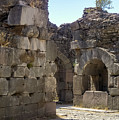 Asklepios Temple Ruins View 4 by Bob Phillips