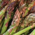 Asparagus Tips 2 by Carol Groenen