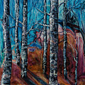 Aspen Grove - 2 by OLena Art Brand