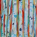 Aspens Abstract IIi by Beverley Harper Tinsley