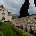 Assisi Church by Roger Mullenhour