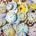 Assorted Watch Faces And Gears by Garry Gay