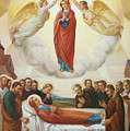 Assumption Of The Blessed Virgin Mary Into Heaven by Svitozar Nenyuk
