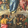 Assumption Of The Virgin 1577 by El Greco