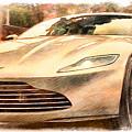 Aston Martin Db10 by Sergey Lukashin