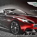 Aston Martin Vanquish Volante  by Serge Averbukh