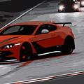 Aston Martin Vantage Gt12 by Andrea Mazzocchetti