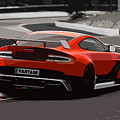 Aston Martin Vantage Gt12 - Trackday by Andrea Mazzocchetti