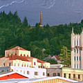 Astoria Oregon by Methune Hively