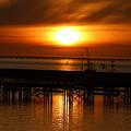 Astoria Oregon Sunset by Nick Gustafson
