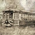 Astoria Trolley by Jean OKeeffe Macro Abundance Art