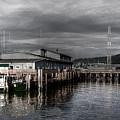 Astoria Waterfront 2 by Lee Santa
