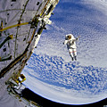 Astronaut In Atmosphere by Jennifer Rondinelli Reilly - Fine Art Photography